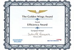 European Winner - Efficiency Award